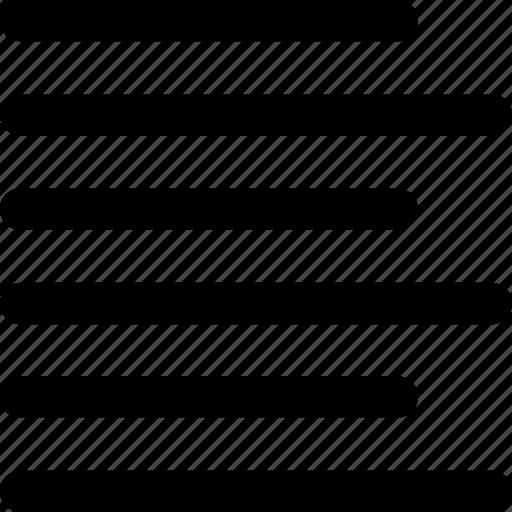 align, alignment, left, note, paper, text, wordprocessor icon