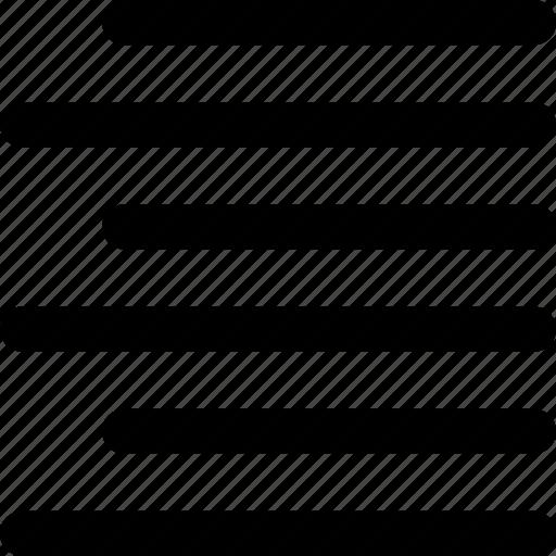 align, alignment, move, paper, right, text, wordprocessor icon