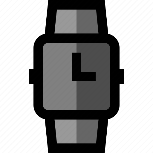 clock, smartwatch, time, watch icon