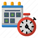 alarm, calendar, clock, event, schedule, time, timer
