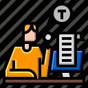 correction, document, edit icon