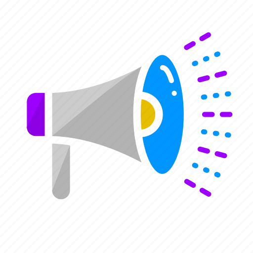 advertising, announcement, campaign, marketing, megaphone, seo, share icon