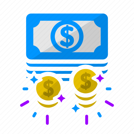cash, dollar, dollar sign, money, pay day, payment, work icon