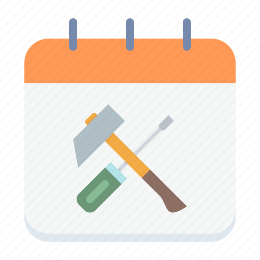 calendar, day, labor, labour, may, mechanic, worker icon