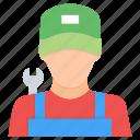 avatar, character, labor, labour, mechanic, persona icon