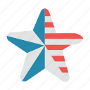 america, american, flag, star, states, stripes, united icon