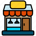 cafe, restaurant, shop icon
