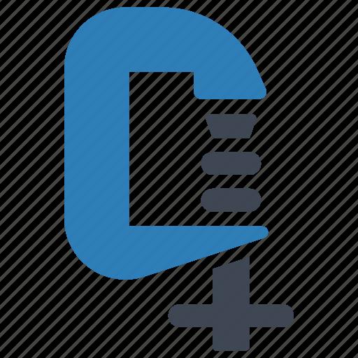 equipment, tool, vise icon