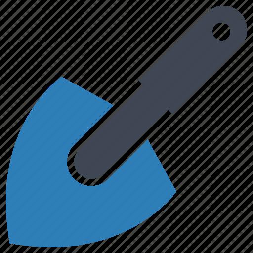 shovel, tool, trowel icon