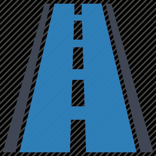 highway, road, travel icon