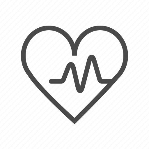 cardio, heart, heart beat, heart beat measurement, heart rate, heart rate measurement, rate icon