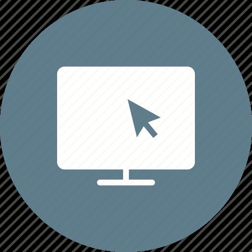 lcd, monitor, screen, television, tv, wall icon