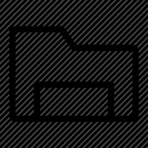 data, document, file, folder, letter icon