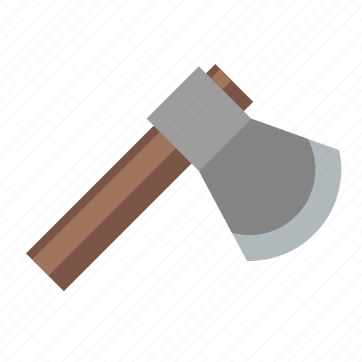 axe, chopper, cutting, hatchet, tool, wood, work icon