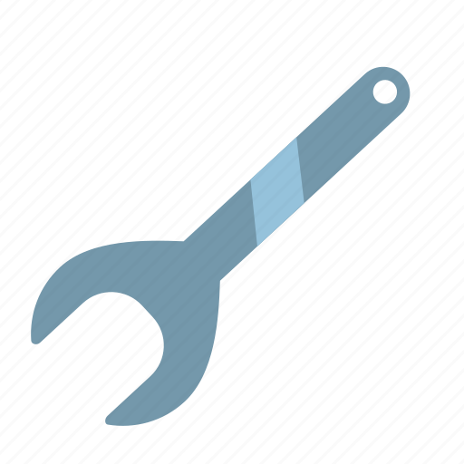 big, french, key, repair, spanner, tool, wrench icon