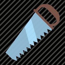 cutting, lumber, metal, saw, timber, wood, work icon