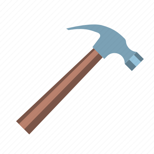 copy, hammer, hardware, head, nail, repair, tool icon