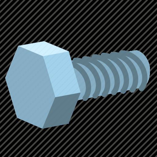 bolt, construction, hardware, nut, repair, screw, spanner icon