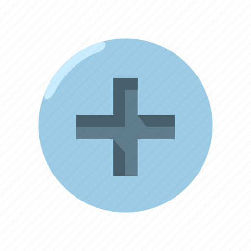 drive, hardware, head, nut, philips, screw, type icon