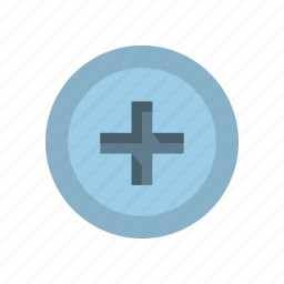 drive, head, lumber, screw, slot, type, wood icon