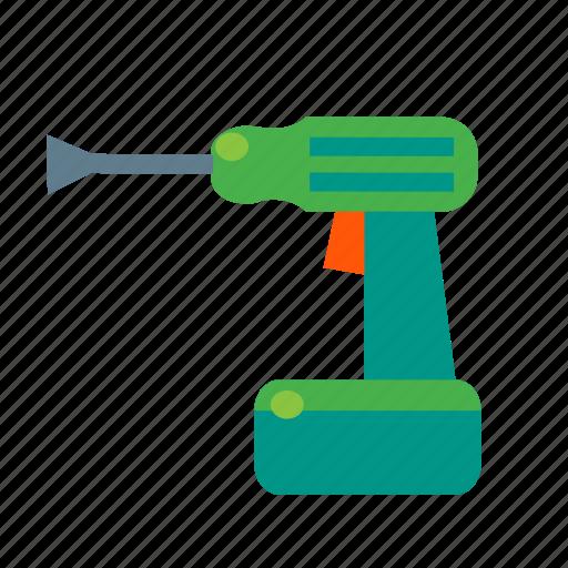 drill, driver, electric, impact, percussive, power, screwdriver icon