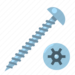 head, protection, screw, secure, security, tight, wood icon