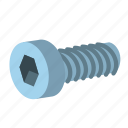 cap, hardware, head, screw, socked, socket, tool icon