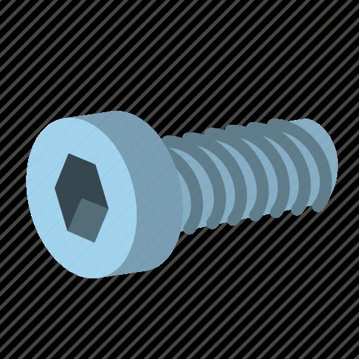 cap, hardware, head, screw, socked, socket, tool icon