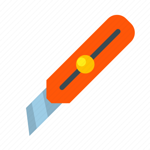 cut, cutting, hardware, knife, paper, tool, wallpaper icon