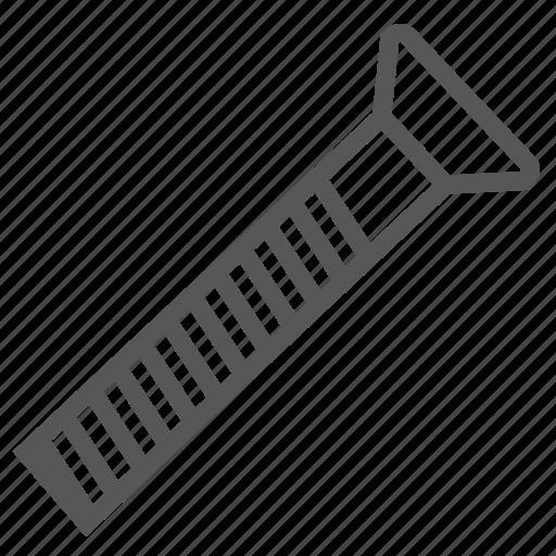 construction, driver, screw, sharp, tool, tree, wood icon