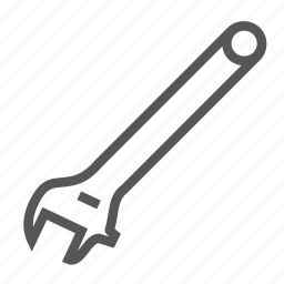 french, hardware, key, repair, spanner, tools, wrench icon