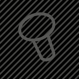 hammer, in, nail, nailed, plug, repair, tool icon