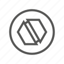 drive, head, masonry, screw, slot, srew, type icon