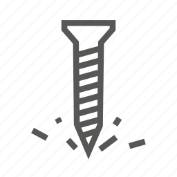 drilling, log, lumber, sawdust, screw, tool, wood icon