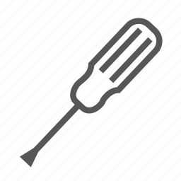 hardware, repaier, screw, screwdriver, screwing, tool, tools icon