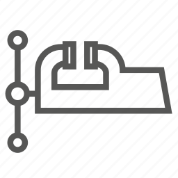 chuck, grip, hardware, tools, vice, vise, workshop icon