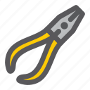plier, tools, workshop icon