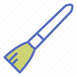 art, brush, office, paint, paint brush, painting, tool icon
