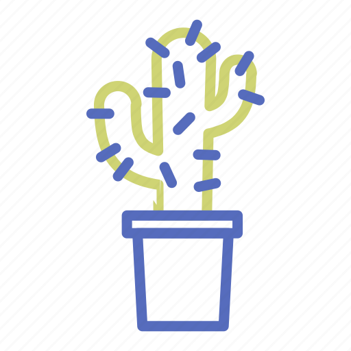 cactus, flowerpot, office, plant, pot, prickle, thorn icon