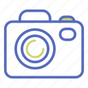 camera, flash, lens, office, photo, photograph, picture icon