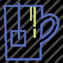 beverage, cup, infusion, mug, office, tea icon
