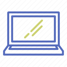 computer, laptop, office, pc, screen, technology icon