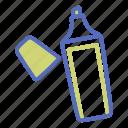 highlight, marker, marking pen, office, pen, underline icon