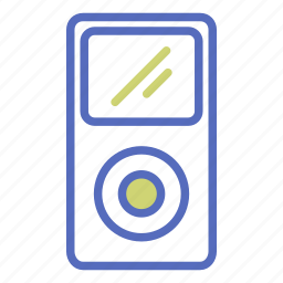 ipod, mp3, music, office, player, song, technology icon