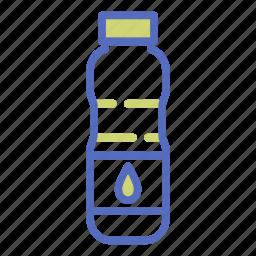 bottle, drink, drop, juice, liquid, office, water icon