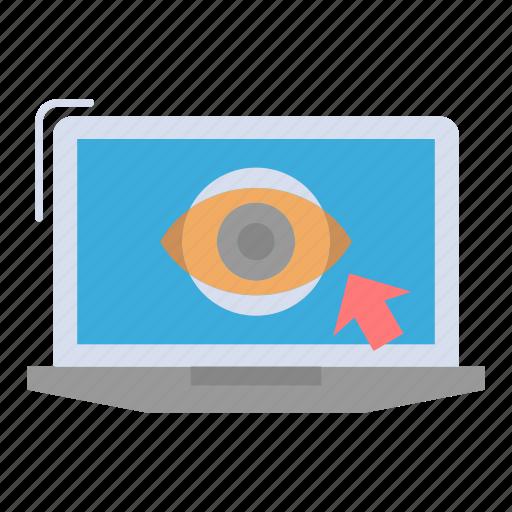 laptop, lcd, monitor, presentation icon