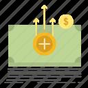 dollar, medical, money, transfer icon