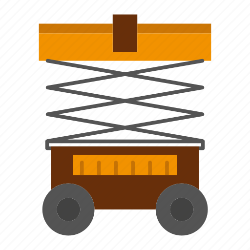forklift, lift, lifter, warehouse icon