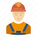 avatar, engineer, industry, supervisor, worker icon