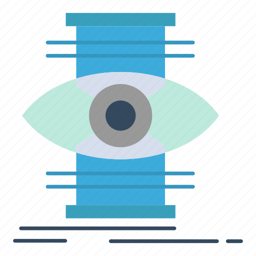 eye, focus, optimize, success icon